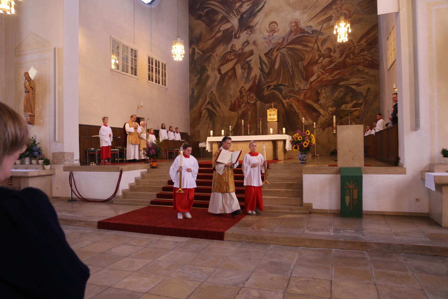 Evangeliumsprozession