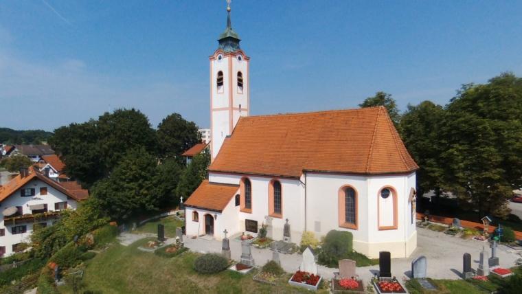 Sanierung der Kirche St. Stephan in Söcking