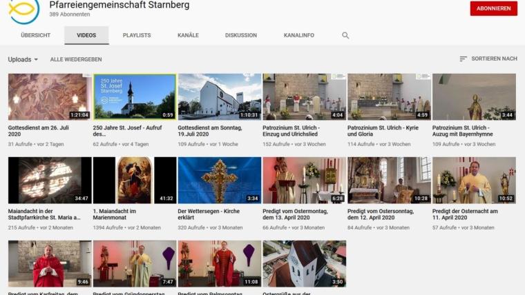 Livestream Karwoche und Ostern
