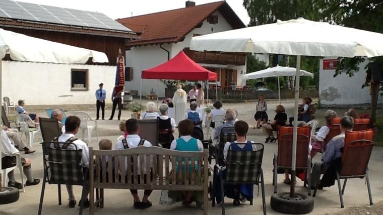 Patrozinium Johannes der Täufer in Hadorf