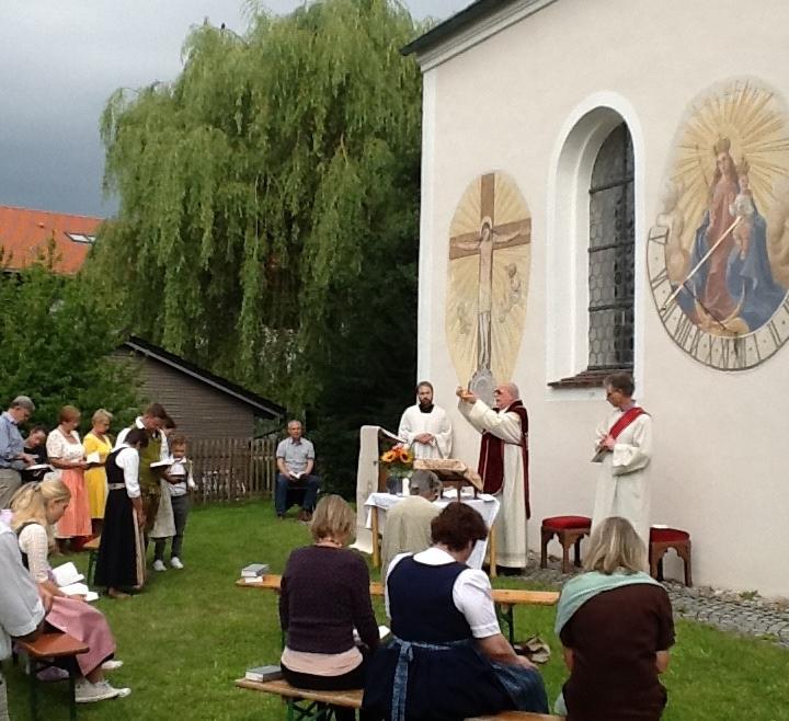 Feier des Patrozinium St. Jakobus in Landstetten